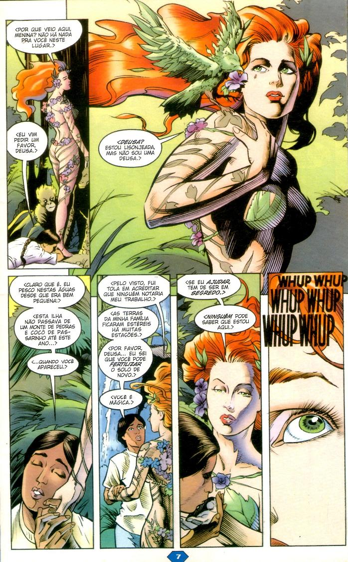 Batman - Poison Ivy hq comics página 1