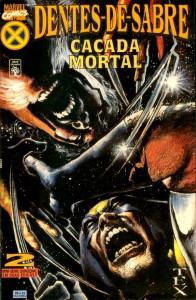 Dentes-De-Sabre Caçada Mortal #2 Wolverine