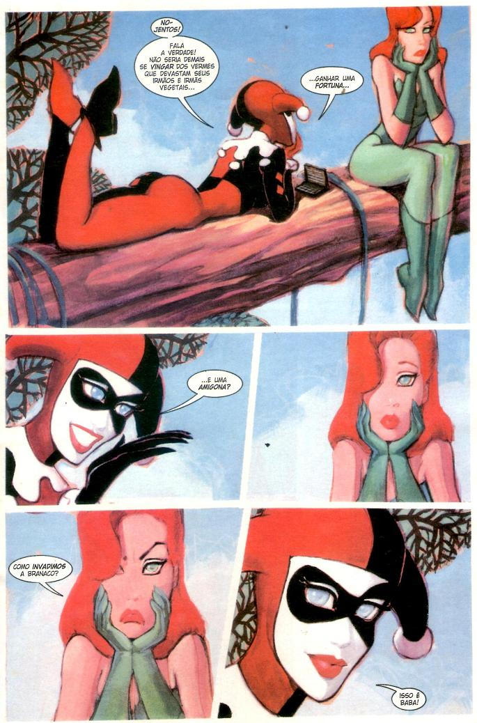 Harley & Ivy love on the lam comic hq página 2