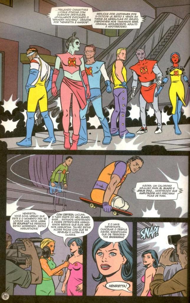 X-Statix #14, #15 e #16 página 1
