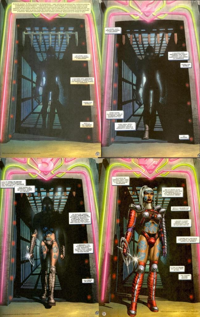 X-Treme X-Men Arena Tempestade Storm Callisto