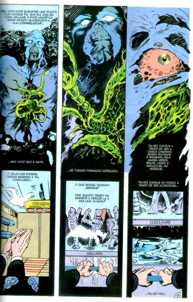 A Saga do Monstro do Pântano - Livro Um página 1