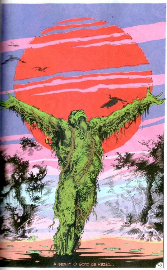 A Saga do Monstro do Pântano - Livro Um página 2