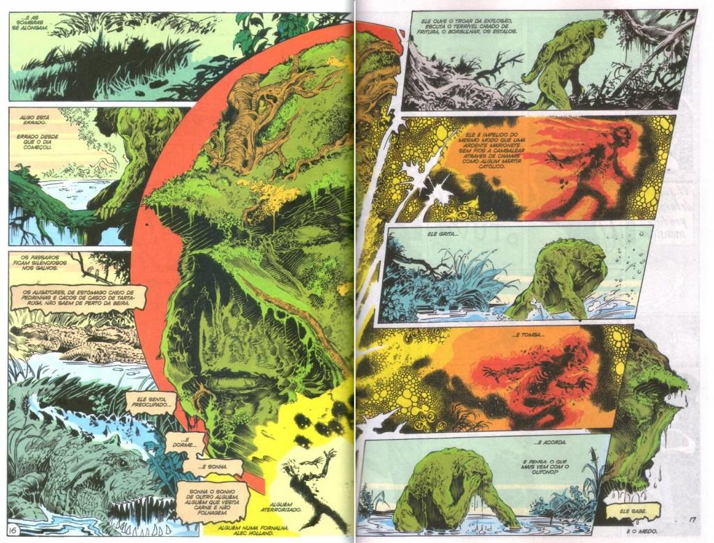 A Saga do Monstro do Pântano - Livro Um página 3