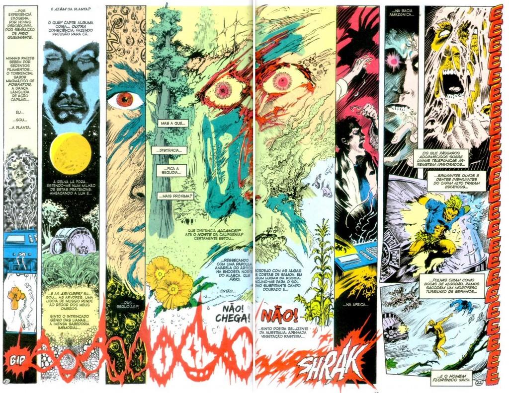 A Saga do Monstro do Pântano - Livro Um página 4