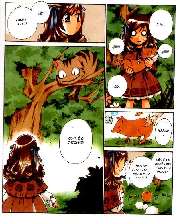 Alice no País das Maravilhas em mangá página 2