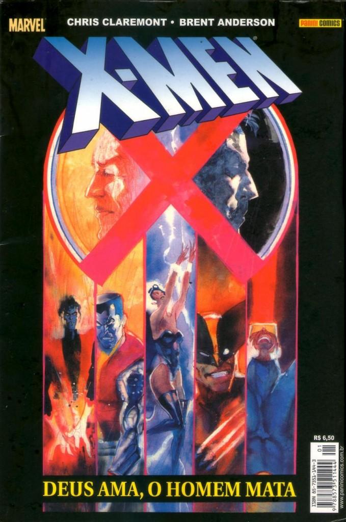 X-Men Deus Ama o Homem Mata panini