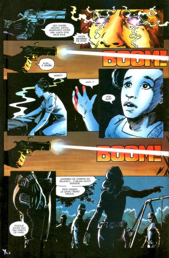 X-Men Deus Ama o Homem Mata panini página 1