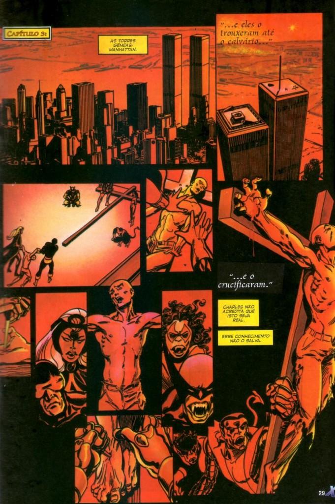 X-Men Deus Ama o Homem Mata panini página 2