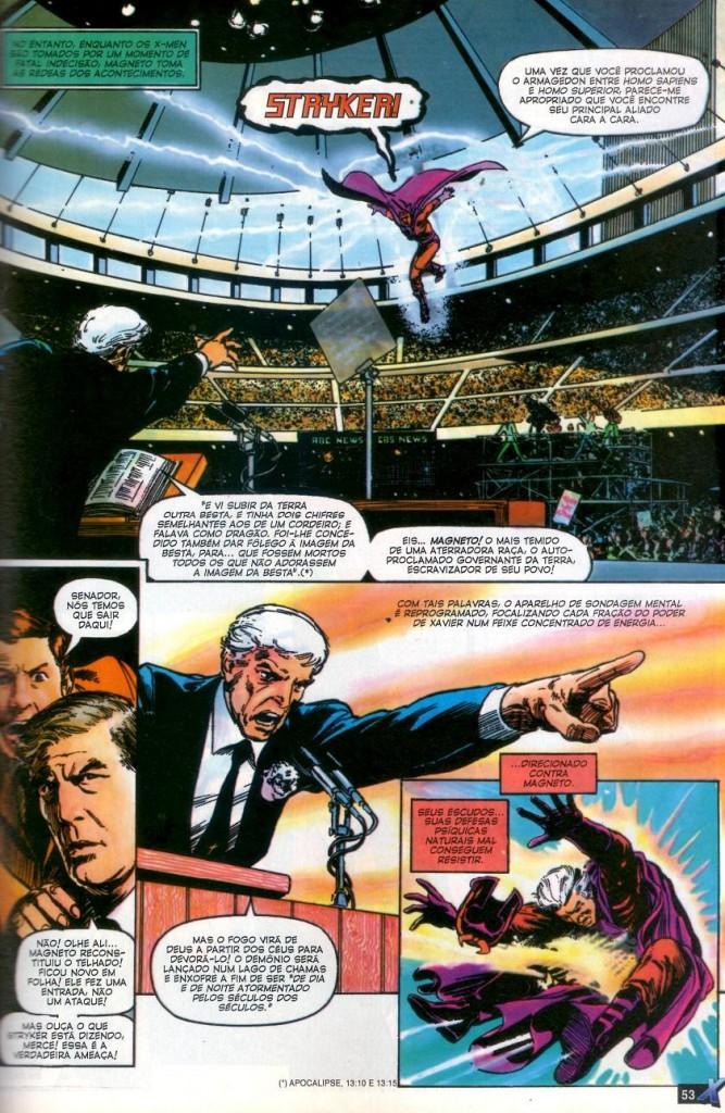X-Men Deus Ama o Homem Mata panini página 3