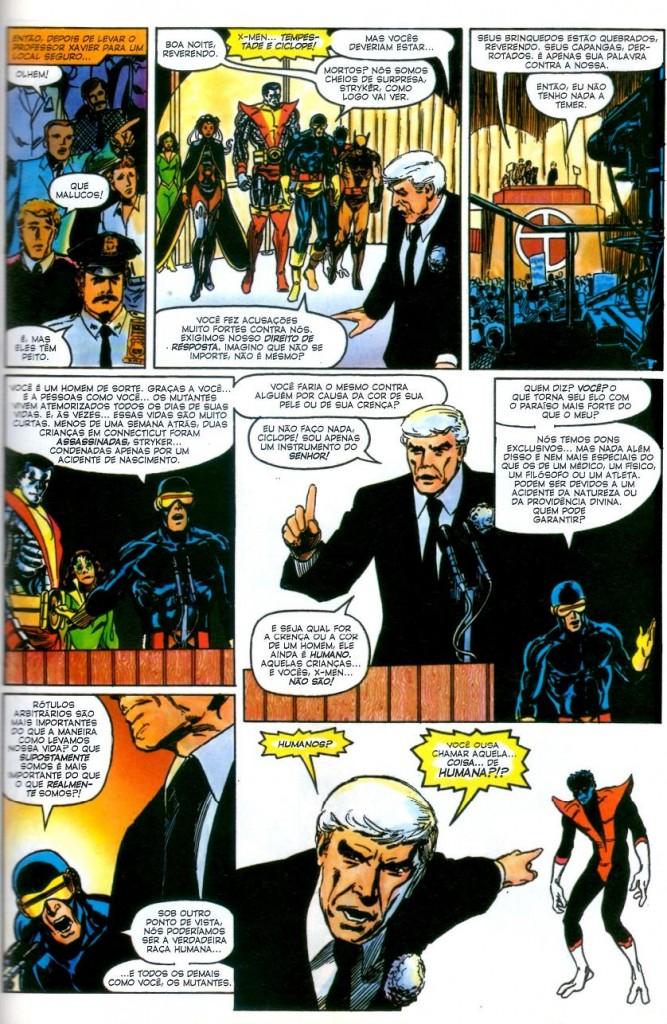 X-Men Deus Ama o Homem Mata panini página 4