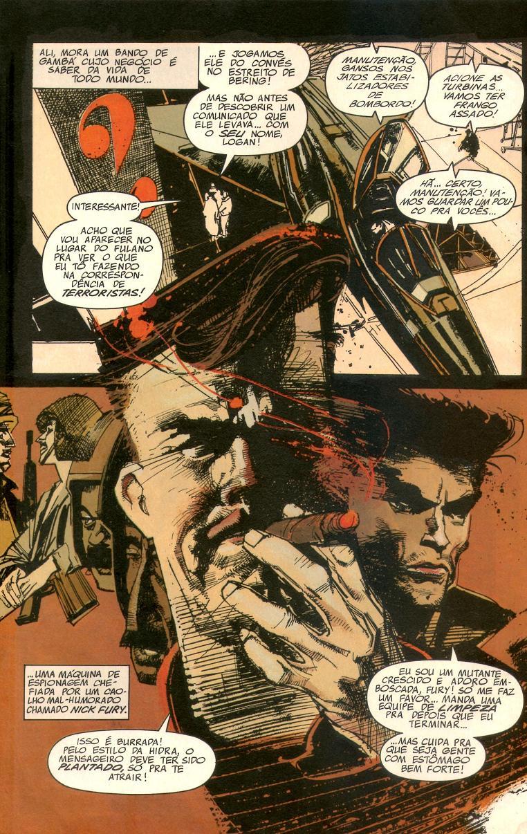Wolverine - Fúria Interior página 1