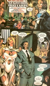 X-Men Unlimited #4 Emma Frost Wolverine
