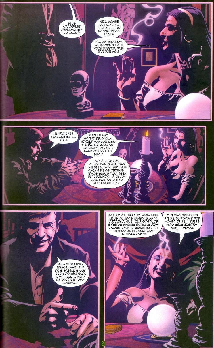 Ex Machina Vol. 3 - Fato Vs. Ficção página 1