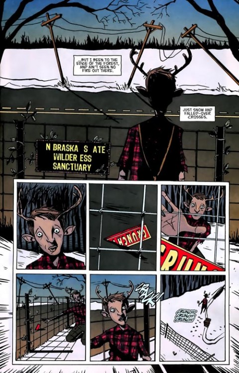 Sweet Tooth Depois do Apocalipse Vol. 1 - Saindo da Mata página 4