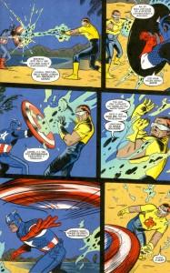 X-Statix #22 Capitão América Vs Anarquista