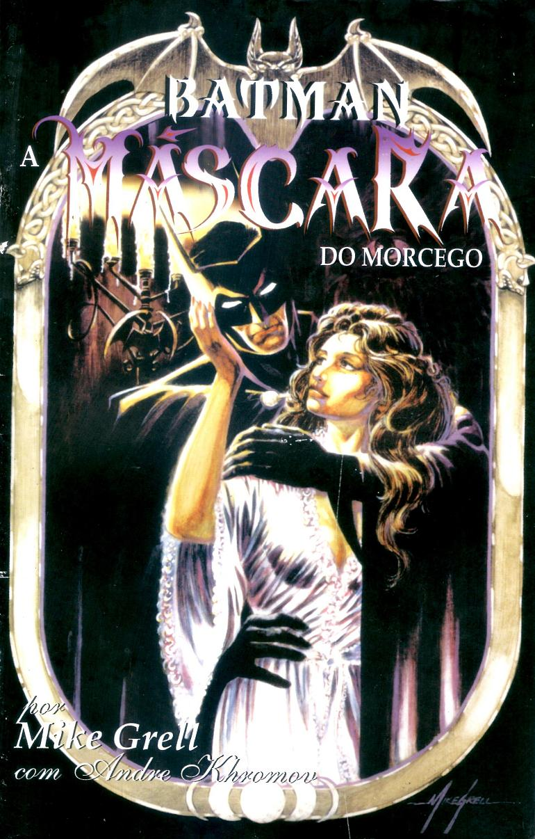 Batman - A Máscara do Morcego capa