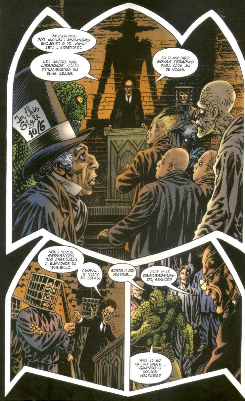 Batman - Asilo Arkham Os Subterrâneos da Loucura página 4