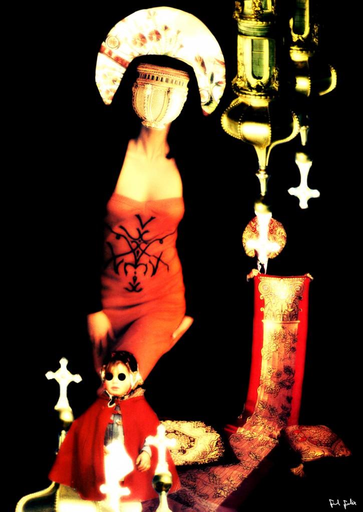 Vossa Santidade (Avareza-Greed) - Fil Felix Colagem