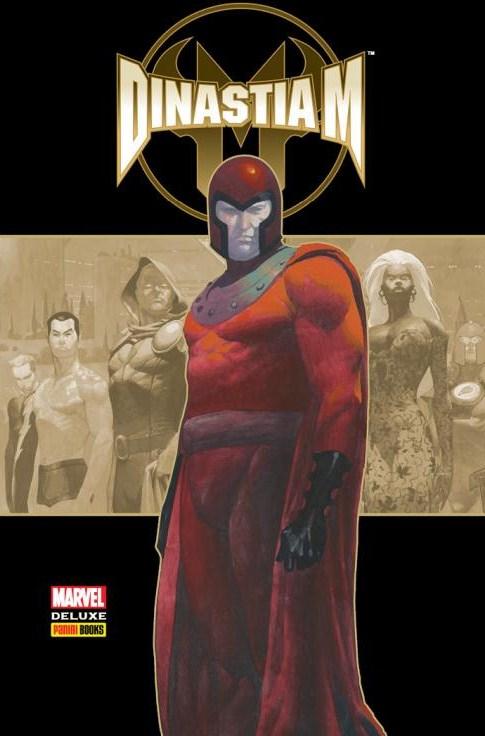 Marvel Deluxe Dinastia M Panini Capa