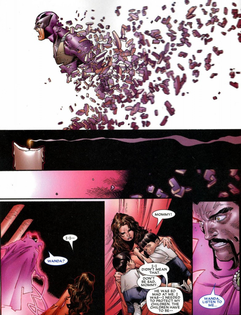 Marvel Deluxe Dinastia M página 3