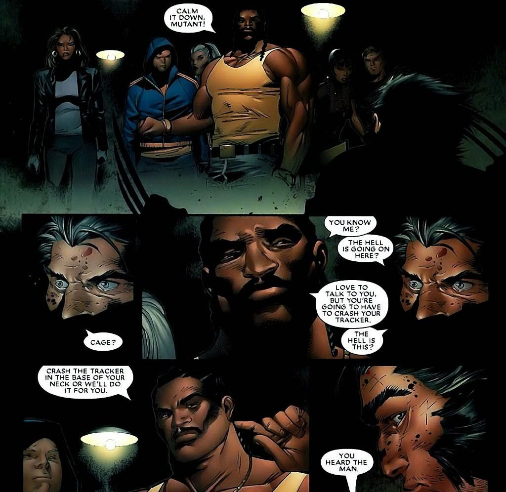 Marvel Deluxe Dinastia M página 4