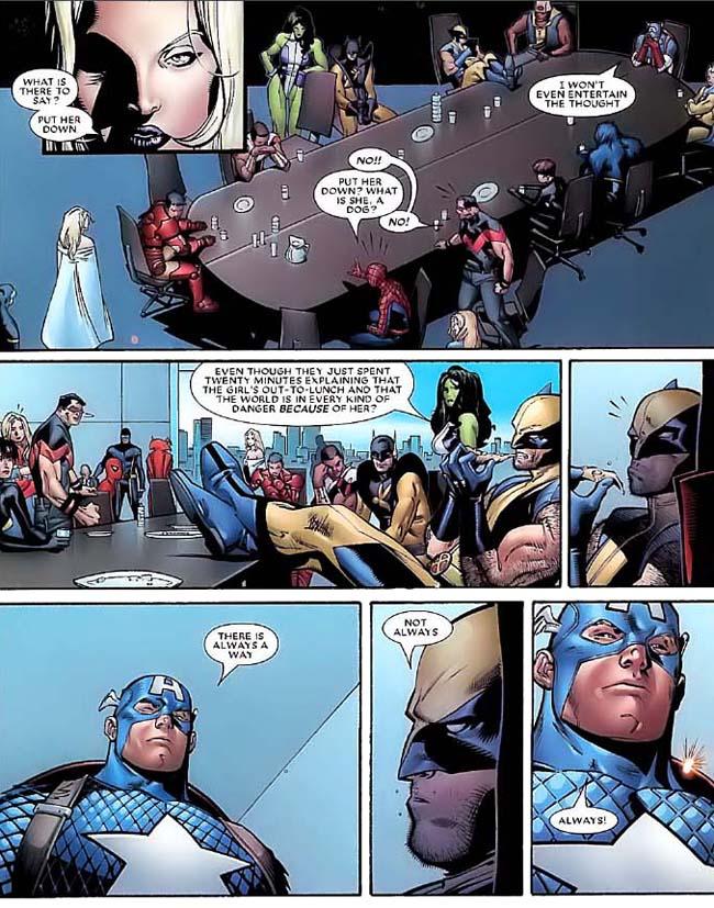 Marvel Deluxe Dinastia M página 5