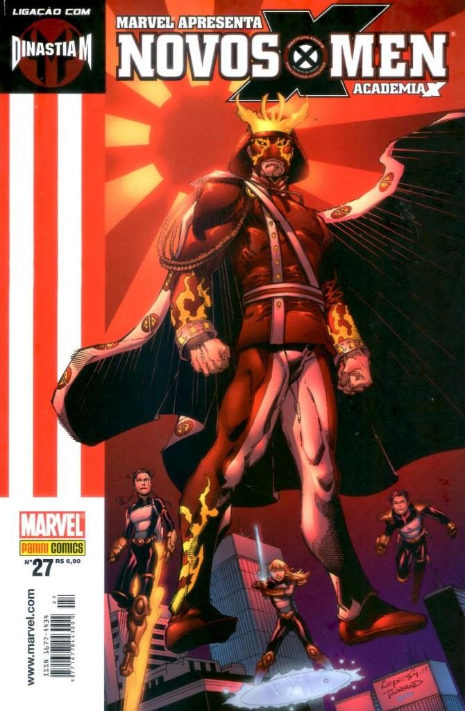 Marvel Apresenta #27 – Novos X-Men Academia X