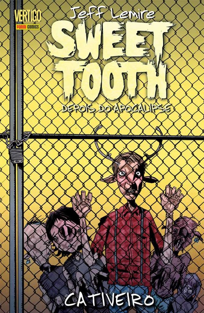 Sweet Tooth #2 - Cativeiro Capa