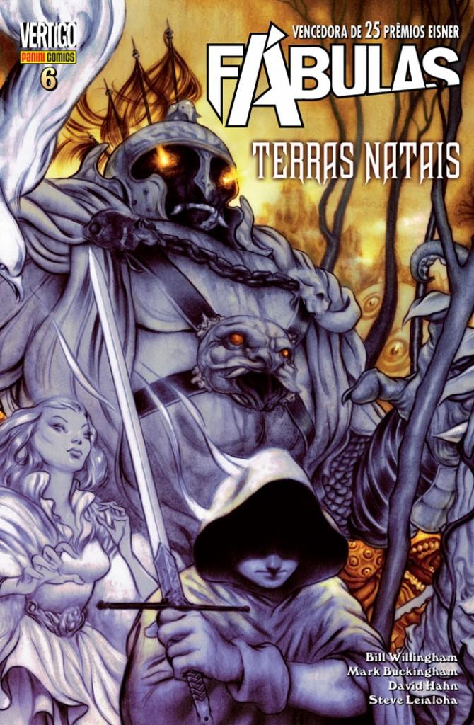 Fábulas Vol. 6 - Terras Natais Panini