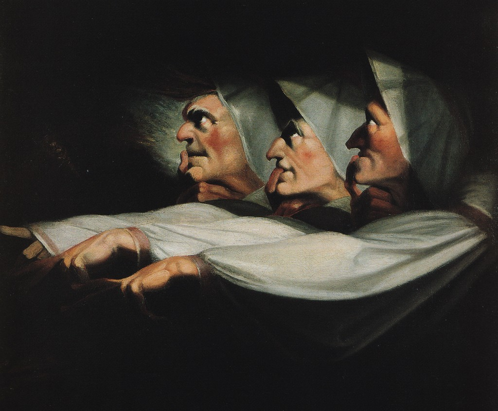 Henry Fuseli - The Weird Sisters - 1783