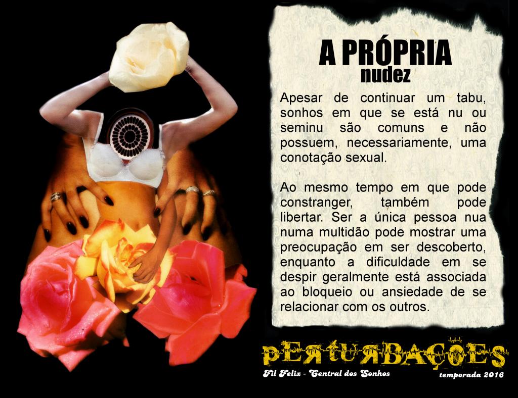 Cartão #4 - A Própria Nudez (Perturbações)