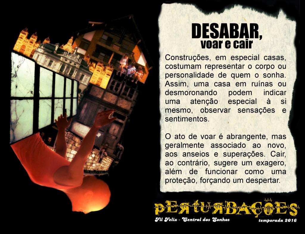 Cartão #6 - Desabar, Voar e Cair (Perturbações)