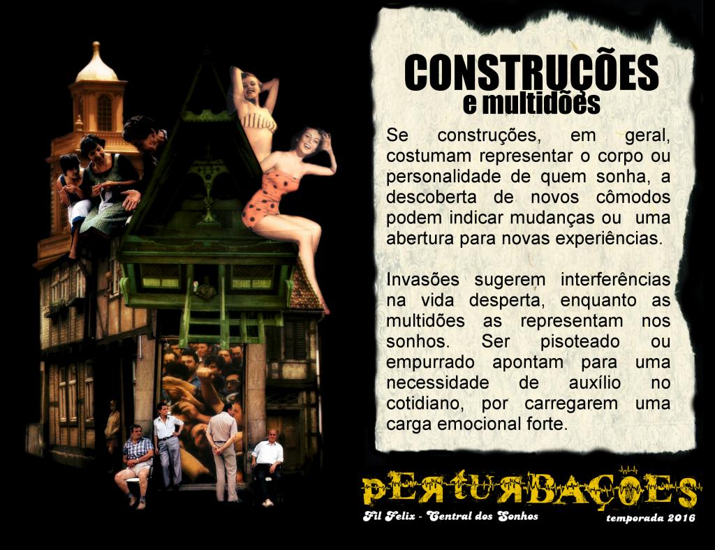 Cartão #7 - Construções e Multidões (Perturbações)