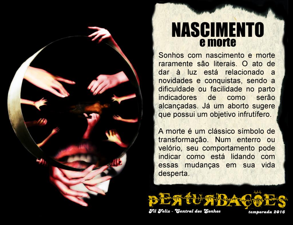 Cartão #8 - Nascimento e Morte (Perturbações)