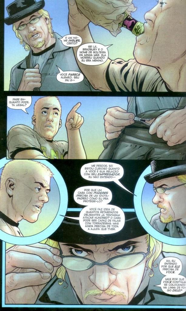 Ex Machina Vol. 5 - Fumaça e Fogo Página 4