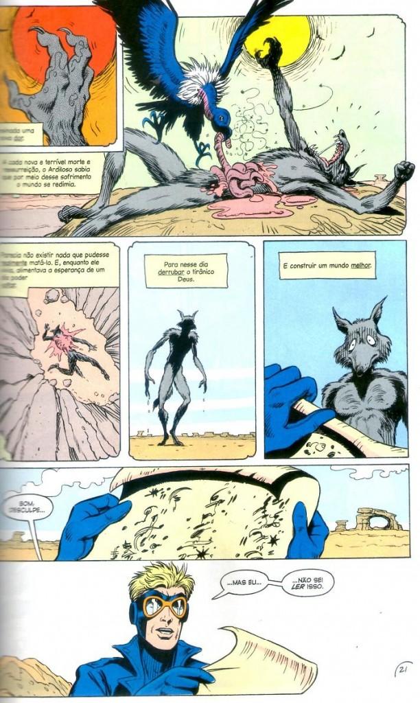 Homem-Animal - O Evangelho do Coiote Página 4