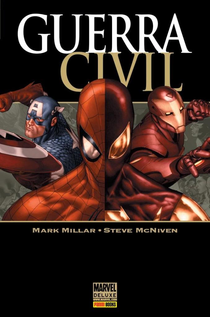 Marvel Deluxe Guerra Civil Panini Capa