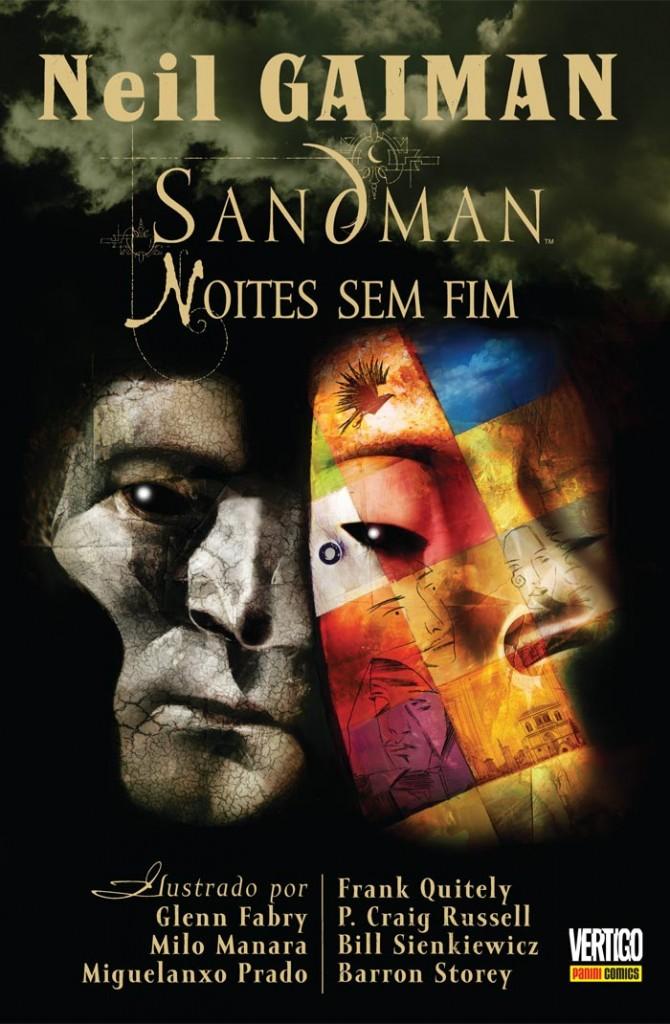 Sandman - Noites Sem Fim Panini Capa