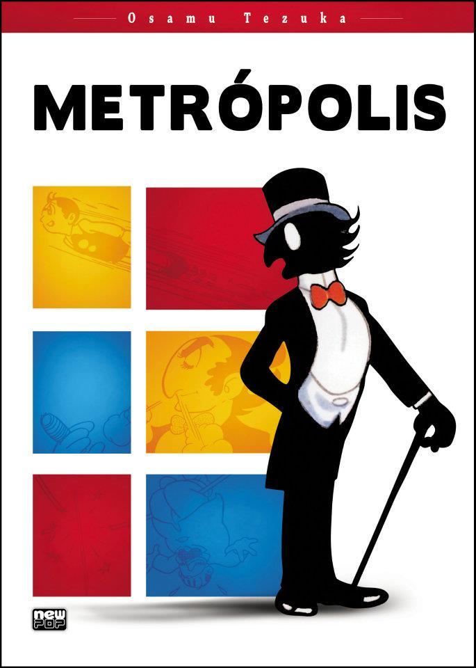 Metrópolis - Osamu Tezuka NewPop Capa