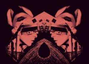 """""""Fachada dos Sonhos"""", inspirada na arquitetura da Sagrada Família de Gaudí e nos triângulos femininos de Freud."""