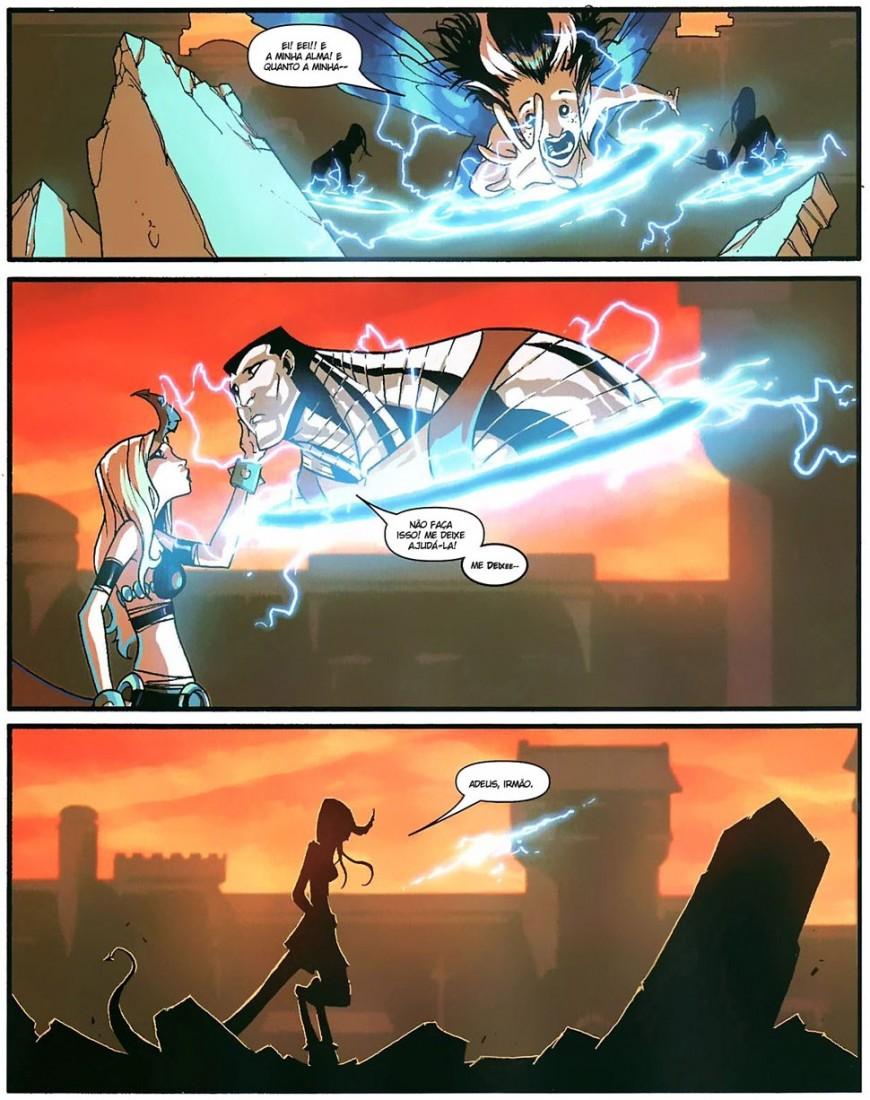Novos X-Men - Academia X Em Busca de Magia 3