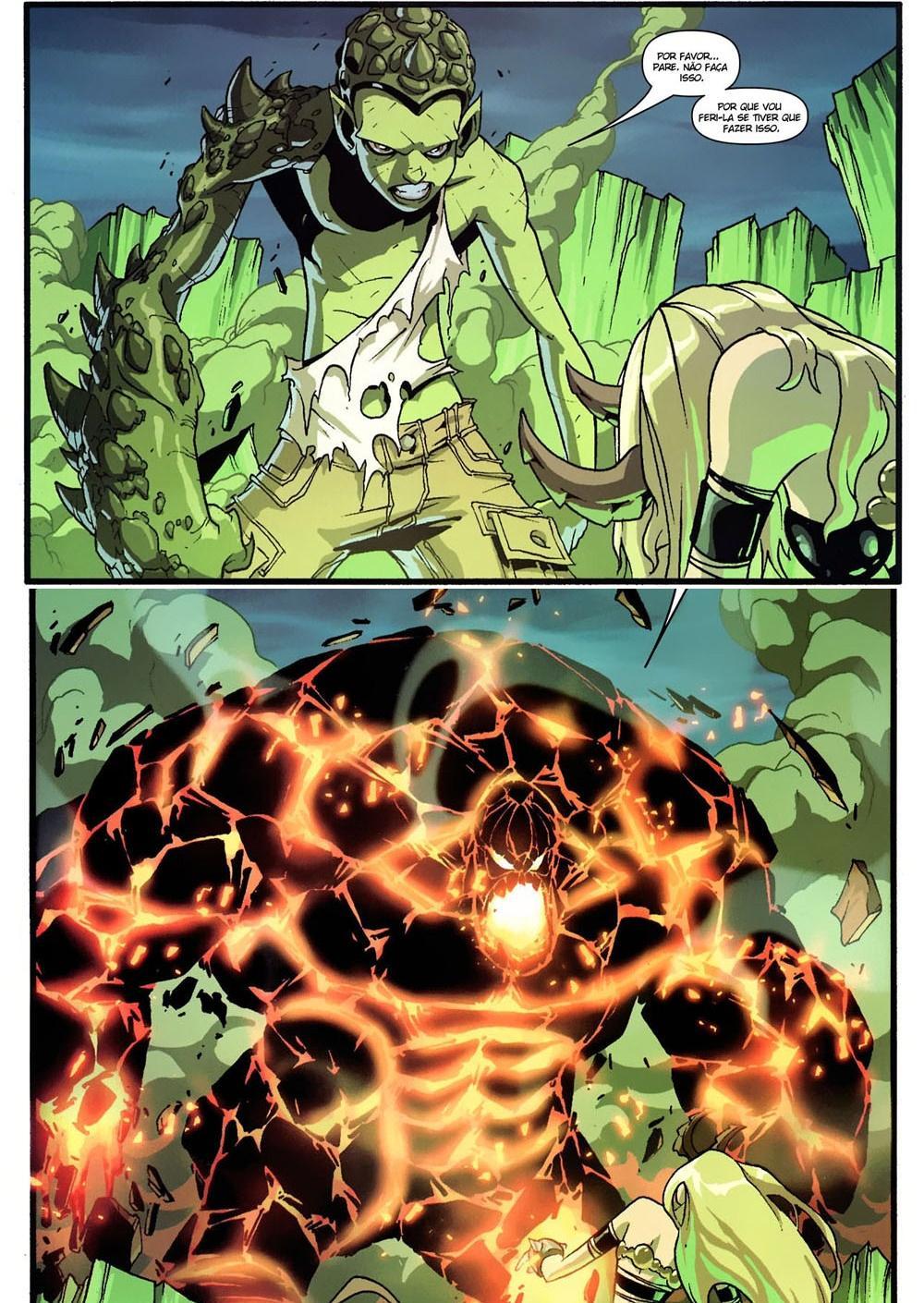 Novos X-Men - Academia X Em Busca de Magia 4