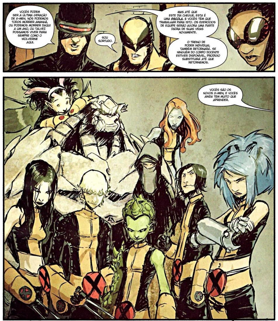 Novos X-Men - Academia X Filhos dos X-Men 1