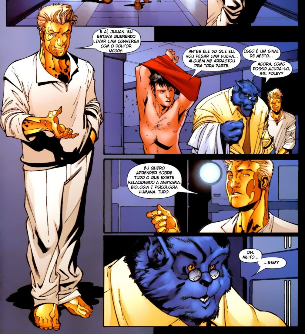 Novos X-Men - Academia X Ninrod e a Queda de Mercury 13
