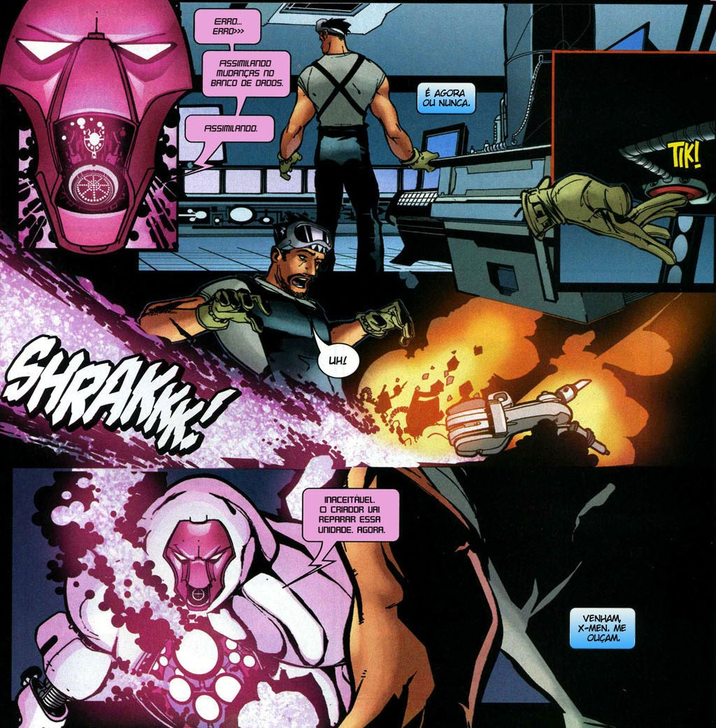 Novos X-Men - Academia X Ninrod e a Queda de Mercury 2