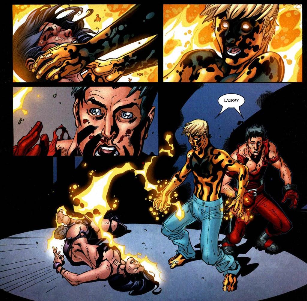 Novos X-Men - Academia X Ninrod e a Queda de Mercury 3