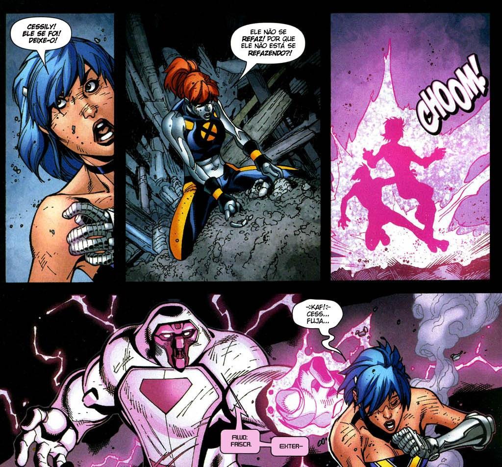 Novos X-Men - Academia X Ninrod e a Queda de Mercury 5