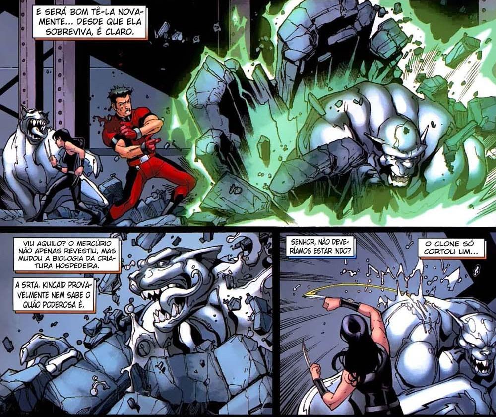 Novos X-Men - Academia X Ninrod e a Queda de Mercury 7