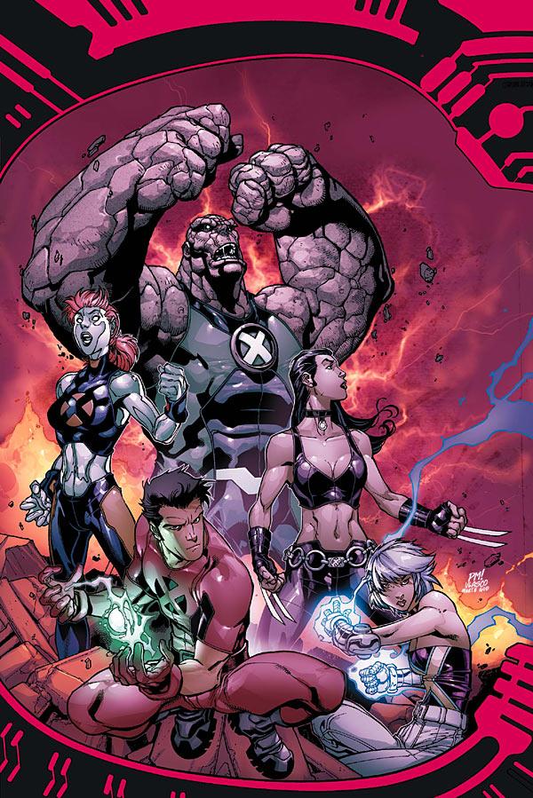 Novos X-Men - Academia X Ninrod e a Queda de Mercury Destaque